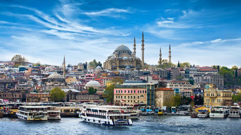 """Истанбул - """"Църквата на първия ден от месеца""""  със """"сребърни"""" и """"златни"""" ключета снимка 9"""
