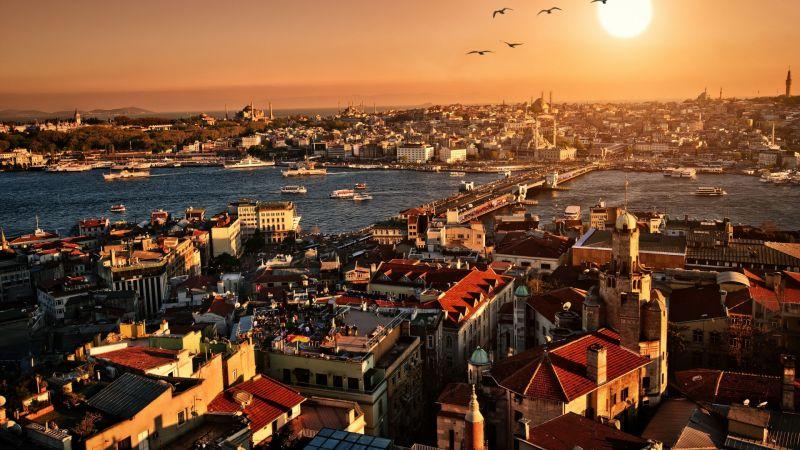 Осми Март в Истанбул снимка 2