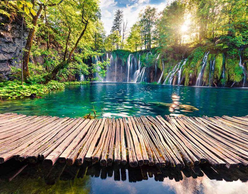 Хърватска приказка - Загреб - Плитвички езера - Трогир - Сплит - Дубровник снимка 1