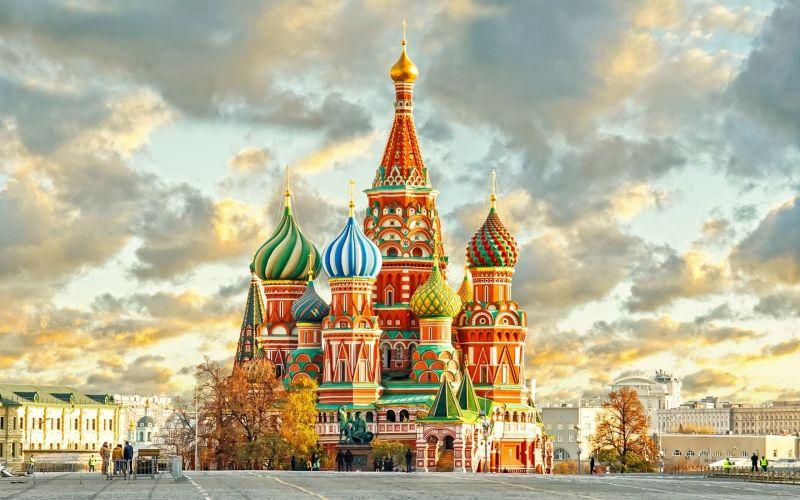 Москва - градът на златните куполи снимка 1