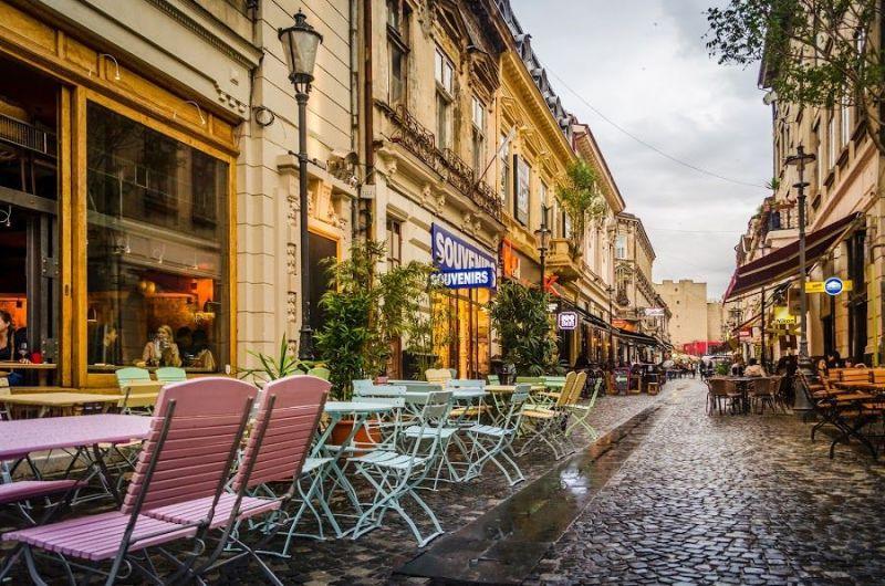 Коледна магия в Букурещ снимка 4