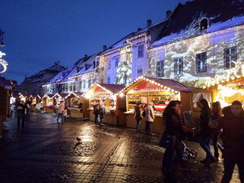 Коледна магия в Букурещ снимка 5
