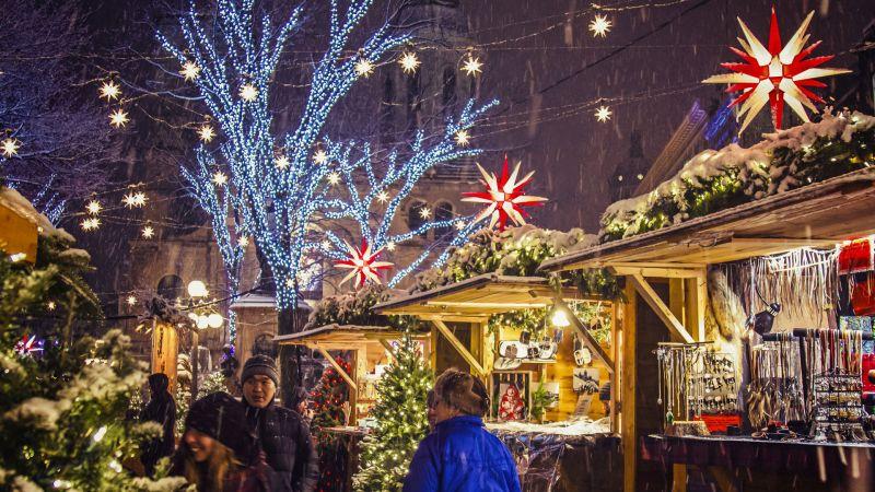 Коледна магия в Букурещ снимка 7
