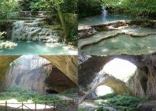 Крушунски водопади – Деветашката пещера.                         Изумрудената водна феерия на Стара Планина